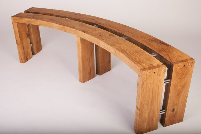 Curved Bench 1