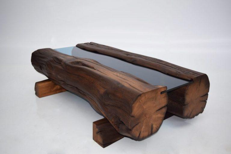 Reclaimed Oak Coffee Table 1