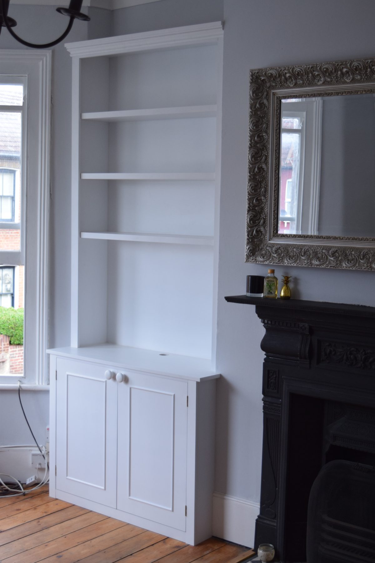 Fitted Alcove Units and Hallway Cupboard | Coleman & Edwards Makers of Fine Furniture
