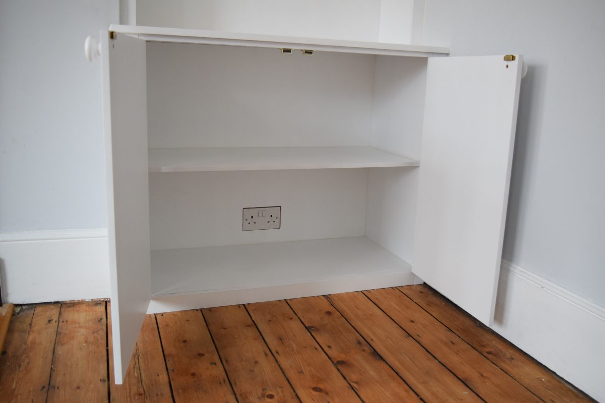 Fitted Alcove Units and Hallway Cupboard