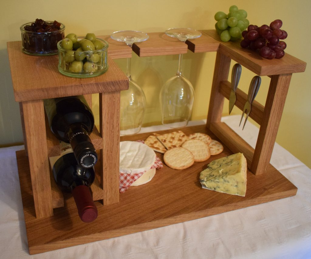 Wooden Wine Cheese Board